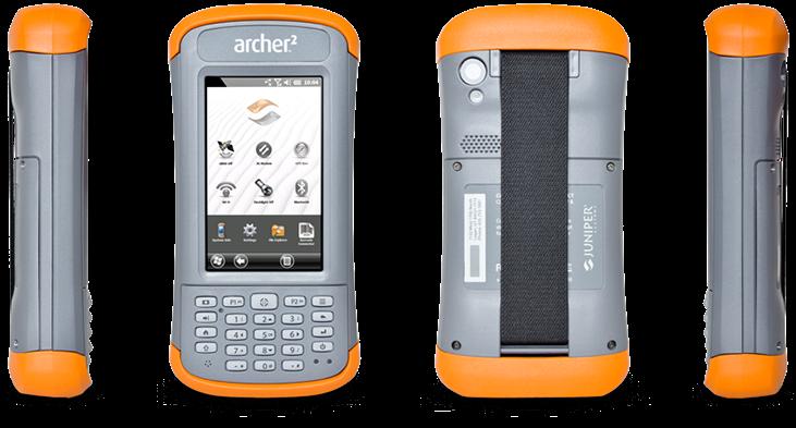 Archer 2 Rugged Handheld   Juniper Systems, Inc