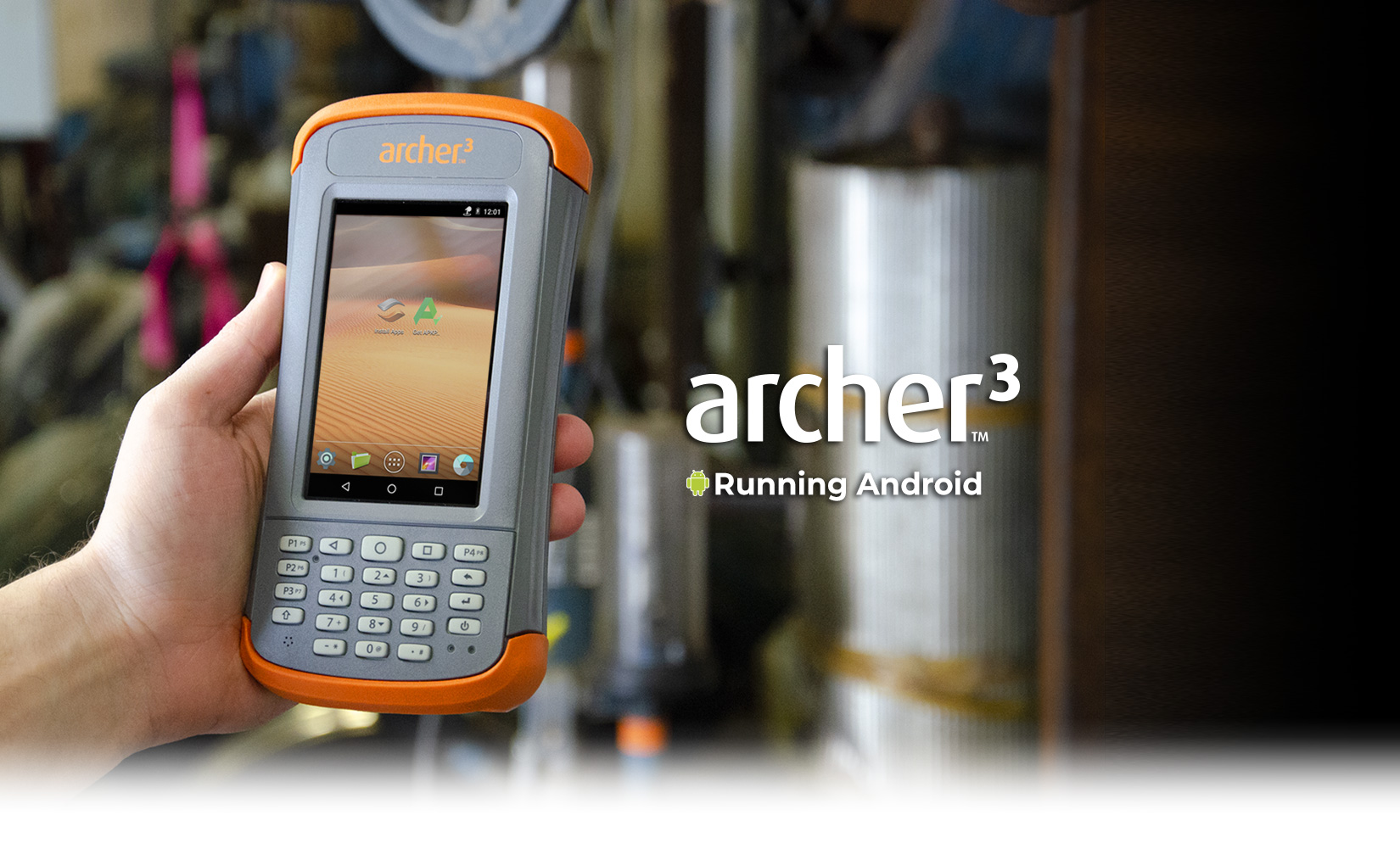 Archer 3 Rugged Handheld Juniper