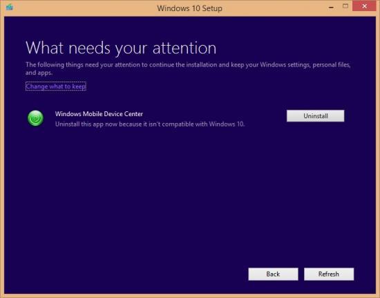 WMDC in Windows 10